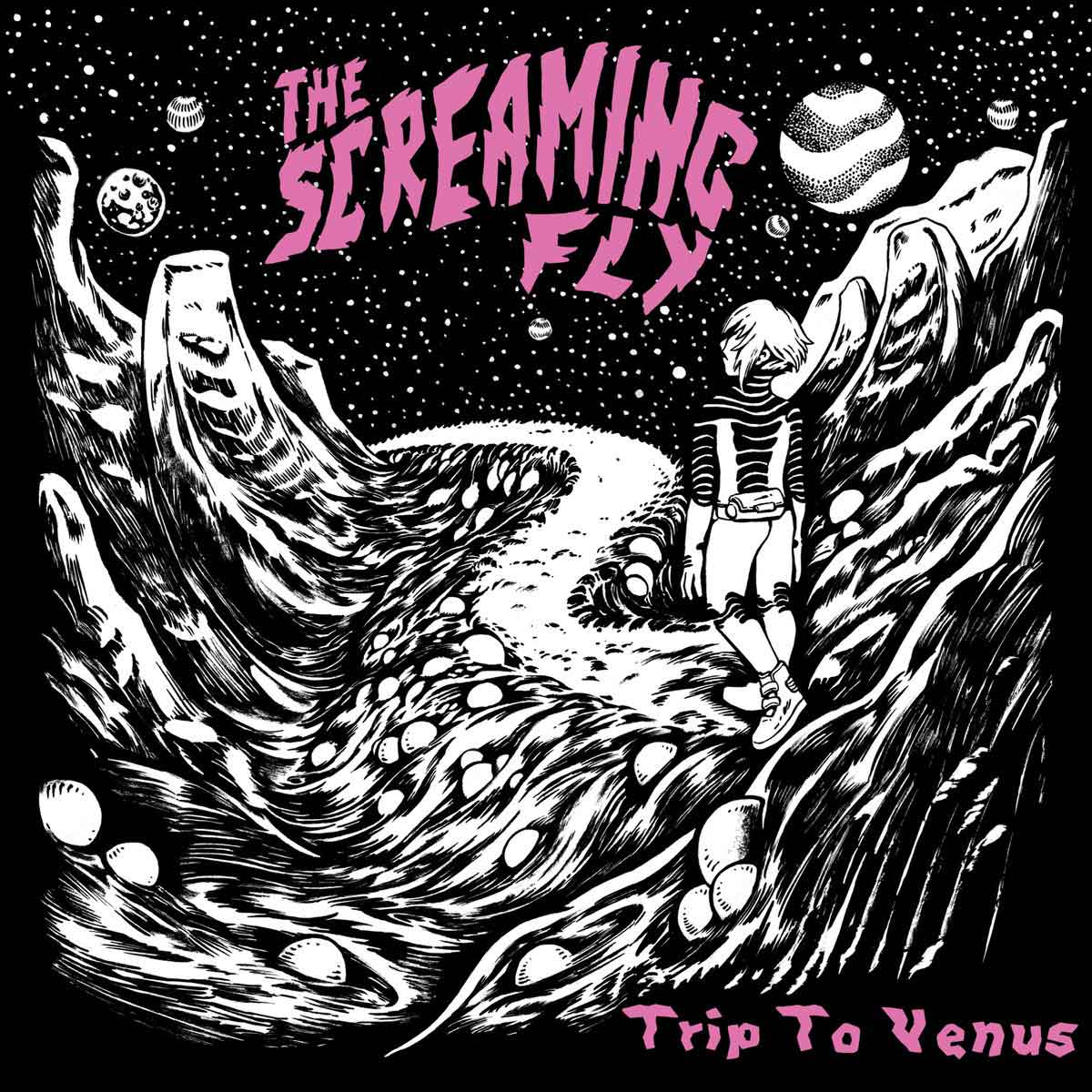 TimeMachine Productions » THE SCREAMING FLY – Trip To Venus